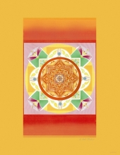 Mandalas Sonnenmandala, Quelle des Lichts