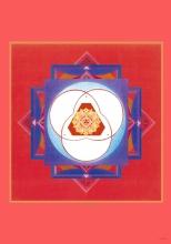 Mandala Innere Balance, Ausgleich der Gegensätze